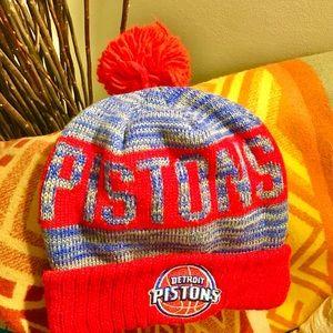 Detroit Pistons Basketball NBA Beanie
